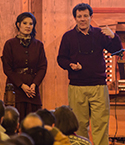 Pulitzer Prize-winning writers Nicholas Kristof and Sheryl WuDunn