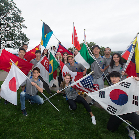 NMH welcomes students from all over the world!