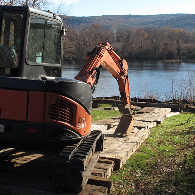 New Boat Dock Construction Begins