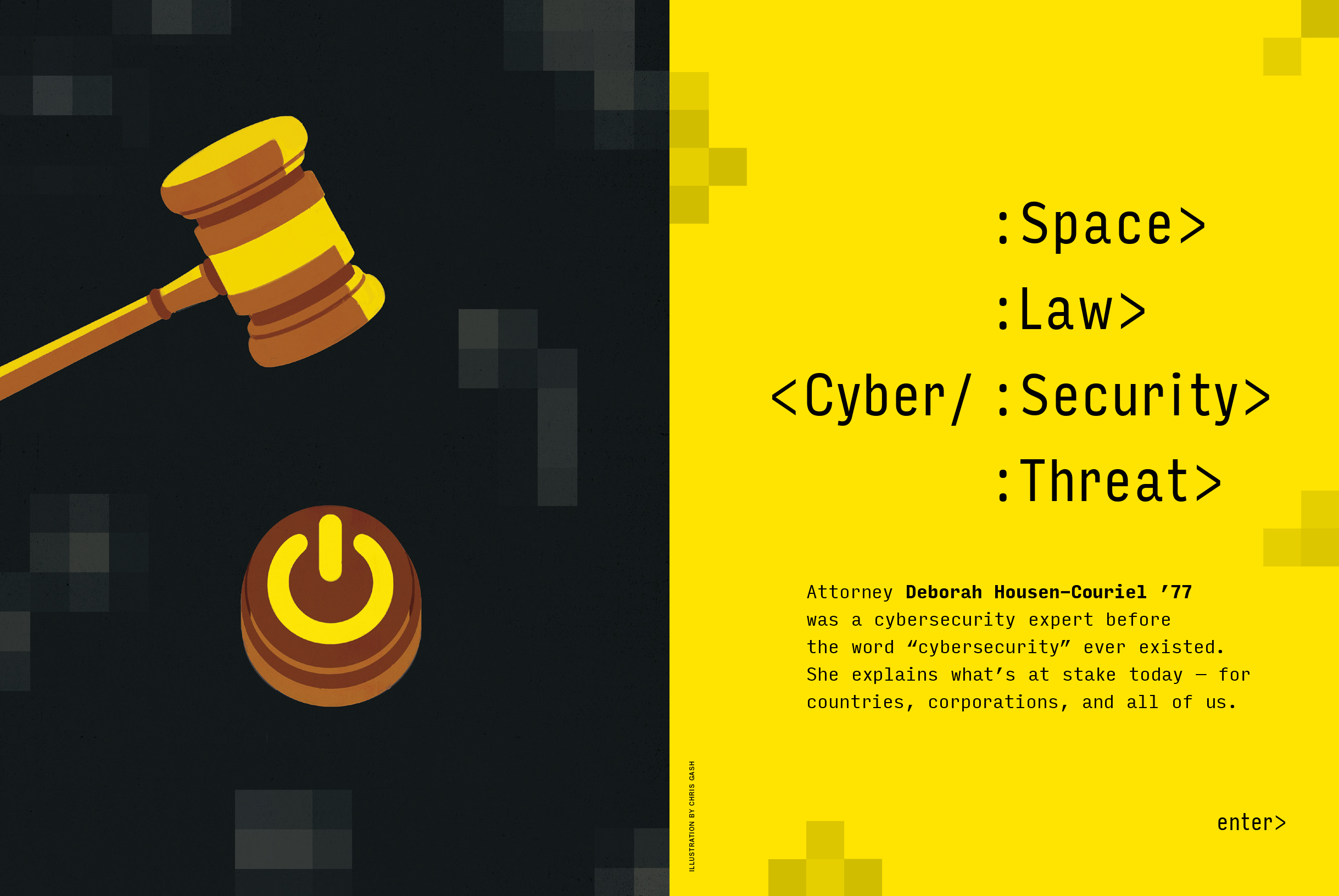 Cyber/: Space :Law :Security :Threat