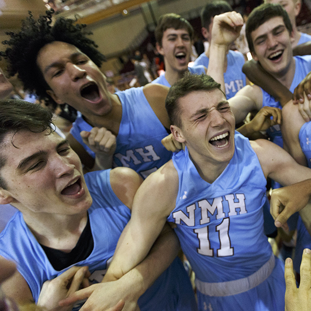 Boys' Basketball Alums: From NMH to the NCAA, and TV