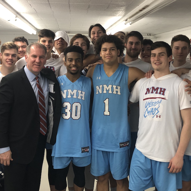 John Carroll Now Winningest Coach for Boys' Basketball