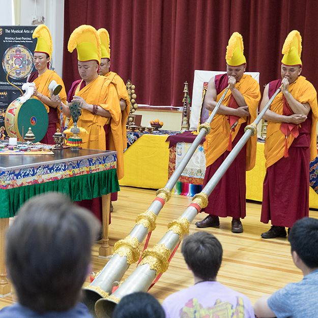 Compassion Week to Feature Sand Mandala's Creation