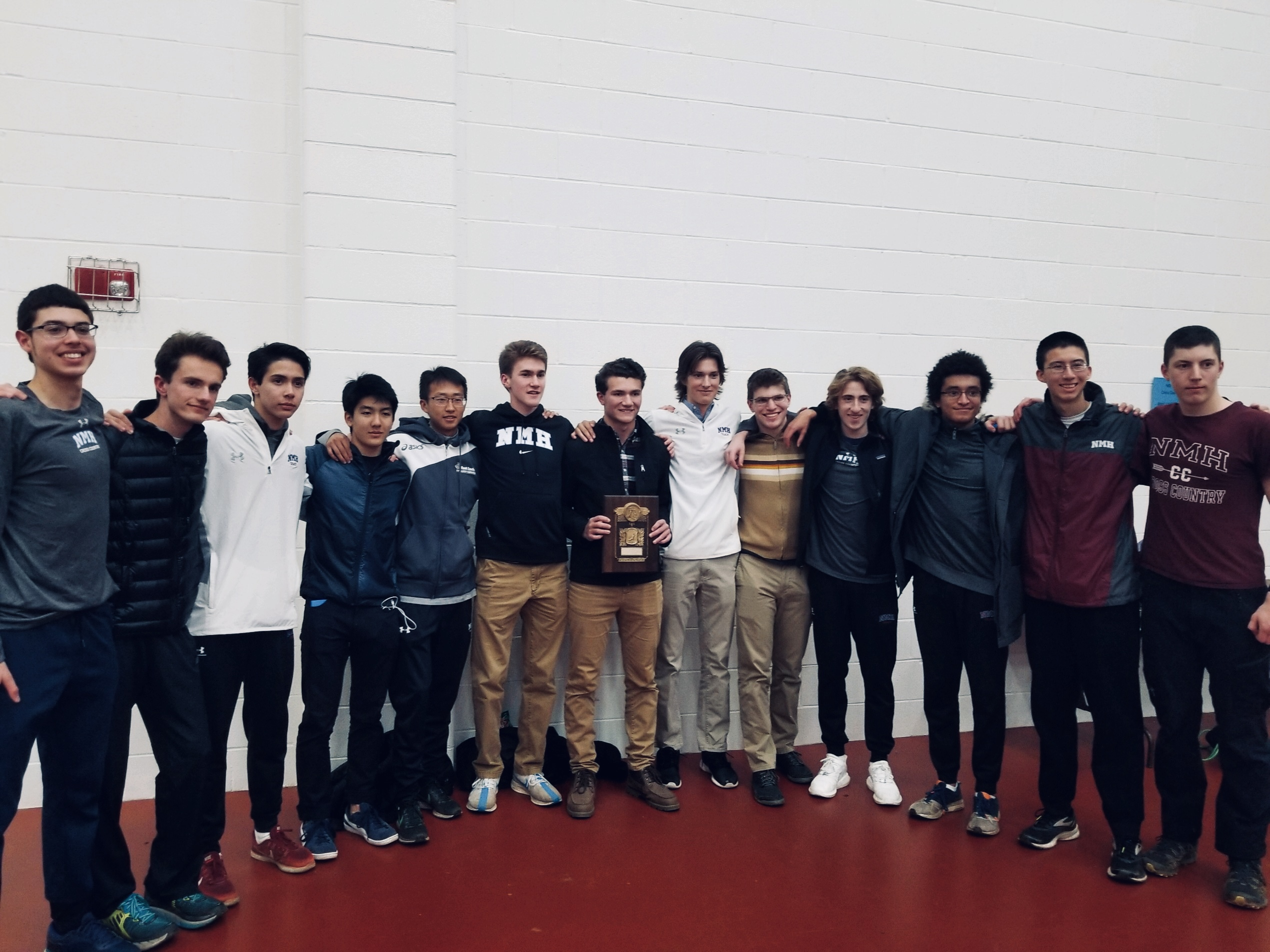 Athlete of the Week: New England Champion Boys' Varsity XC Team
