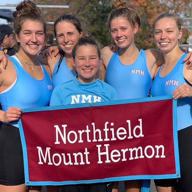 Athlete of the Week: Girls' Rowing 4+ Places 2nd at Head of the Charles